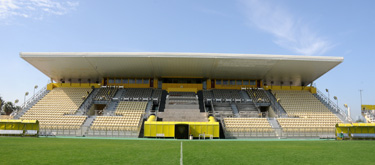 Al Wasl Stadium in Zabeel